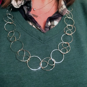 Circles and Infinity Pendant