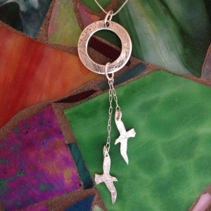 Roots and Wings Pendants