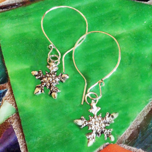 Snowflake 1 Earrings