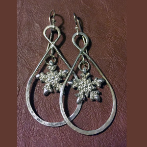 Snowflake 3 Earrings
